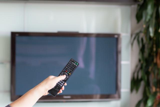英語のテレビ番組や映画を観る